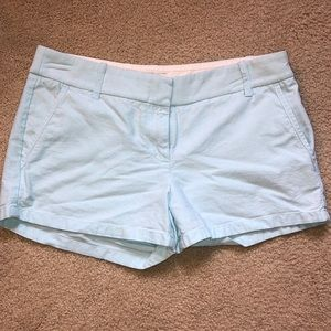 J-Crew Light Blue Shorts